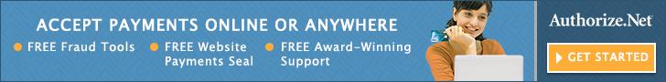 Authorize.net Payment Gateway & Merchant Account